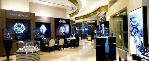 Global Timepieces watch shop K11 Art Mall Hong Kong.