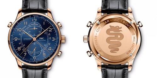 "IWC Schaffhausen Portugieser Chronograph Rattrapante Edition ""Milano Boutique""."