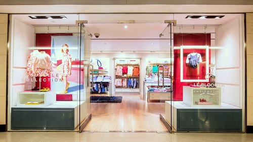 Jacadi children's clothing store Landmark Hong Kong.