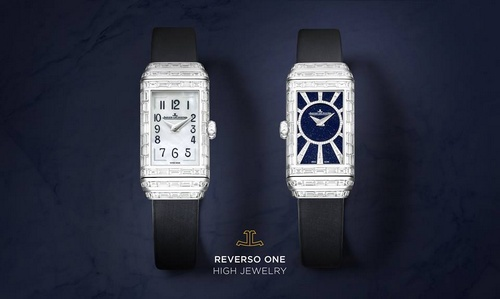 Jaeger-LeCoultre Reverso One High Jewelry watch.