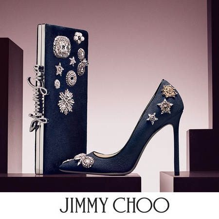 Jimmy Choo shoes and accessories.