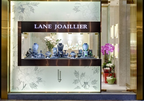 Lane Joaillier Fine Jewellery store Causeway Bay Hong Kong.