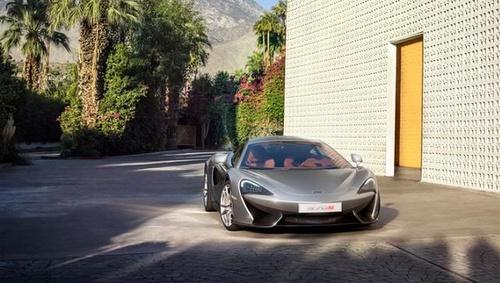 McLaren sports car.