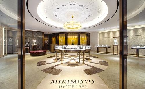 Mikimoto jewelry store 1881 Heritage Hong Kong.