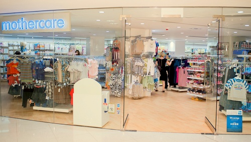 Mothercare store Landmark Hong Kong.