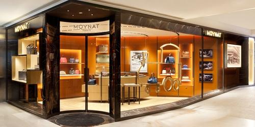 Moynat bag store Landmark Atrium Hong Kong.