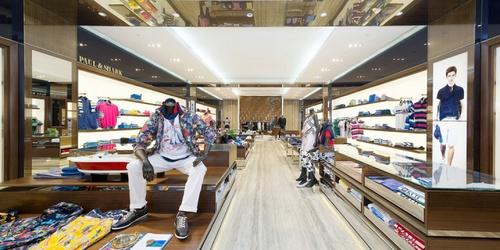 Paul & Shark clothing shop Harbour City Hong Kong.