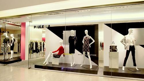Paule Ka womenswear store Landmark Hong Kong.