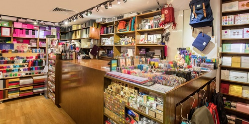Prints stationery shop Hong Kong.