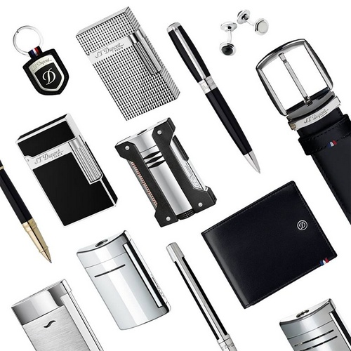 S.T.Dupont lighters, pens, and accessories.