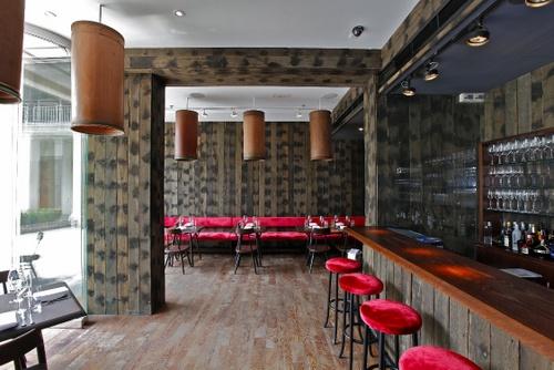 Stables Grill restaurant Hullett House Hong Kong.