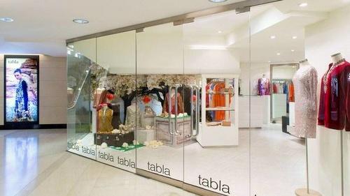 Tabla shop Landmark Hong Kong.