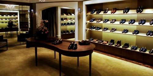 Tassels shoe shop Landmark Hong Kong.