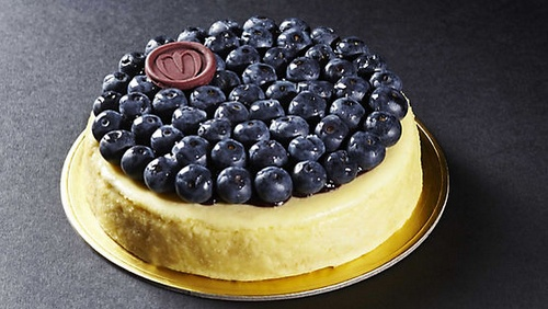 The Mandarin Cake Shop Chinnery Blueberry Dessert.