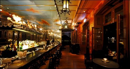 The Parlour restaurant & bar Hullett House Hong Kong.
