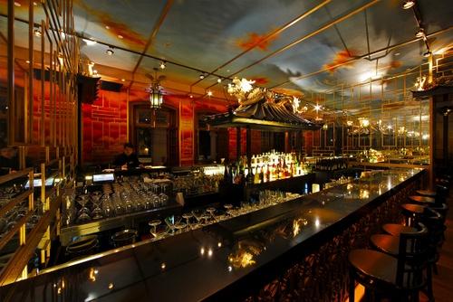 The Parlour restaurant and bar Hong Kong.