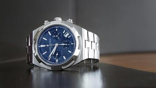 Vacheron Constantin Overseas Chronograph watch.