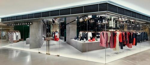 Victoria Beckham clothing shop Landmark Hong Kong.