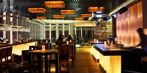 Zuma Japanese restaurant Landmark Hong Kong.