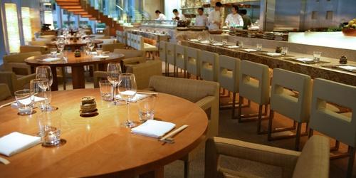 Zuma Japanese restaurant in Hong Kong.