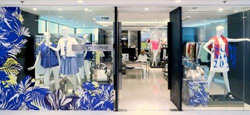 22 Octobre clothing store Harbour City Hong Kong.