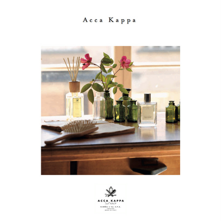 Acca Kappa beauty & fragrance products.