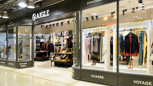 Aigle shop Harbour City Hong Kong.
