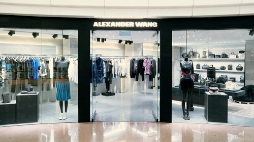 Alexander Wang shop Harbour City Hong Kong.