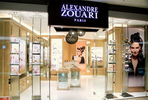 Alexandre Zouari accessory shop Festival Walk Hong Kong.