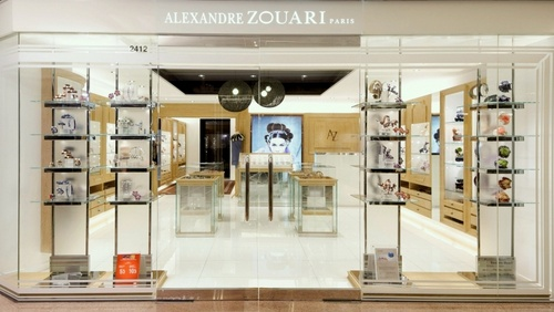 Alexandre Zouari Paris accessory store Harbour City.