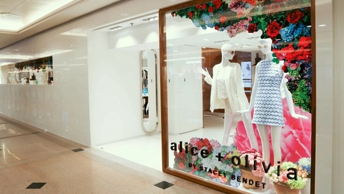 alice + olivia clothing shop Harbour City Hong Kong.