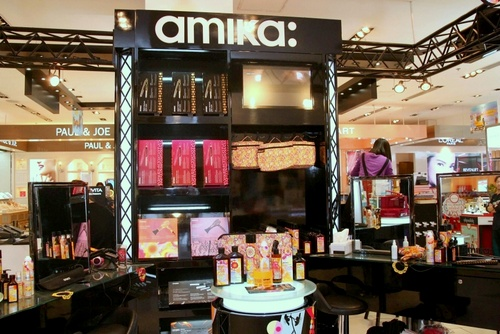 amika: hair care shop FACESSS Harbour City Hong Kong.