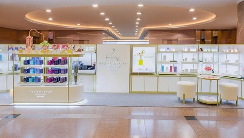Aromatherapy Associates store Harbour City Hong Kong.