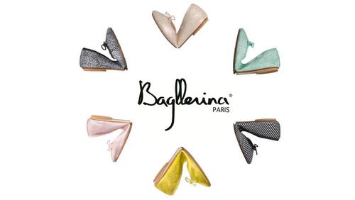 Bagllerina foldable shoes.
