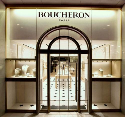 Boucheron jewellery & watch shop Harbour City Hong Kong.