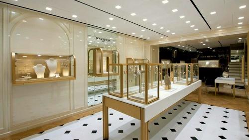 Boucheron jewellery and watch shop 3 Pedder Street Hong Kong.