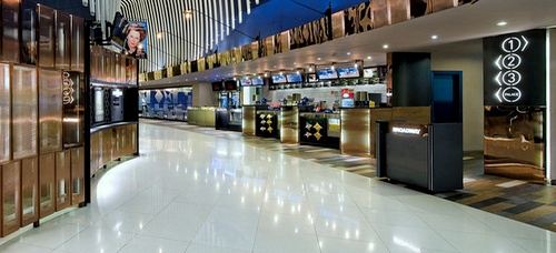 Broadway Circuit movie theater Cyberport Hong Kong.