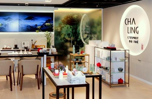 Cha Ling cosmetics shop Harbour City Hong Kong.