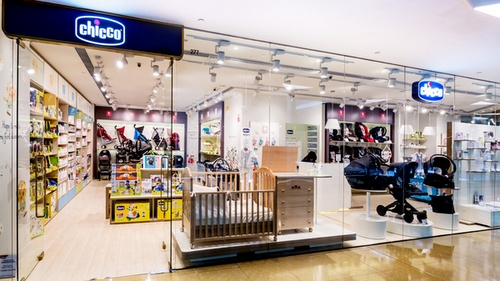 Chicco baby & maternity shop Cityplaza Hong Kong.