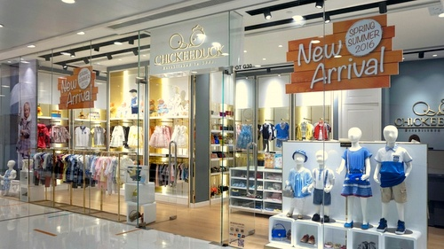 Chickeeduck children's clothing shop Harbour City Hong Kong.