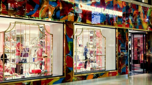 Christian Louboutin women's shop Harbour City Hong Kong.