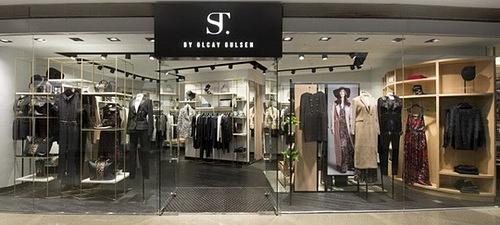 ST. by Olcay Gulsen clothing shop Festival Walk Hong Kong.