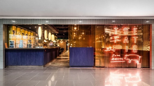 The Fat Pig by Tom Aikens Times Square Hong Kong.
