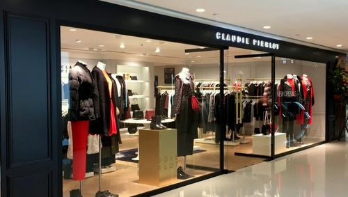 Claudie Pierlot clothing shop Harbour City Hong Kong.