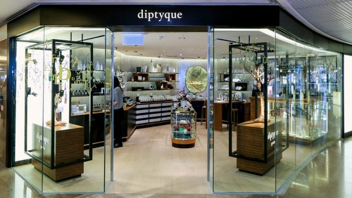 Diptyque store Harbour City Hong Kong.
