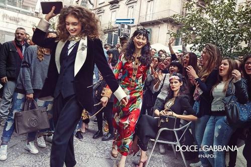 Dolce & Gabbana ad.
