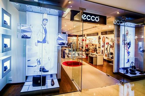 ECCO shoe shop Cityplaza Hong Kong.