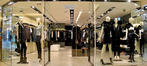 Elisabetta Franchi clothing shop Harbour City Hong Kong.