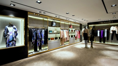 Emilio Pucci clothing store Harbour City Hong Kong.