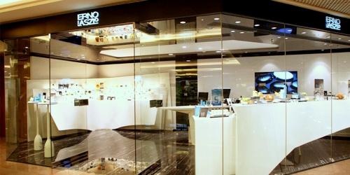 Erno Laszlo cosmetics shop Harbour City Gateway Arcade Hong Kong.